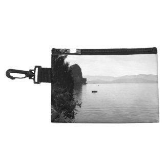 Black And White Landscape 13 Accessories Bag