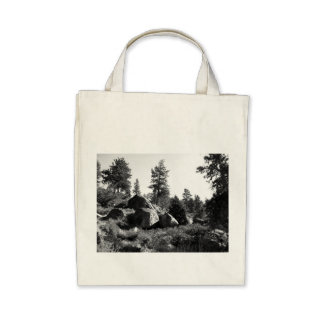 Black And White Landscape 14 Bags