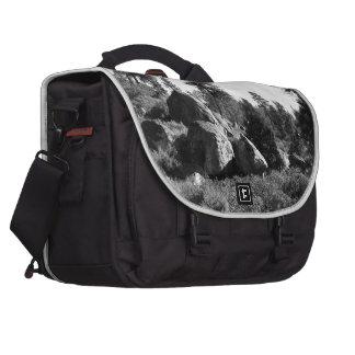 Black And White Landscape 14 Commuter Bag