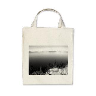 Black And White Landscape 15 Canvas Bag