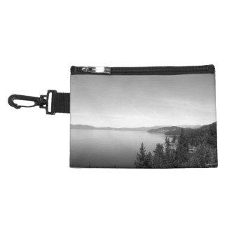 Black And White Landscape 16 Accessories Bag