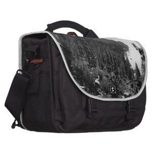 Black And White Landscape 17 Commuter Bag