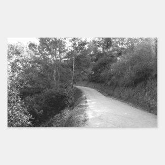 Black And White Landscape 18 Sticker