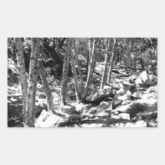 Black And White Landscape 22 Stickers