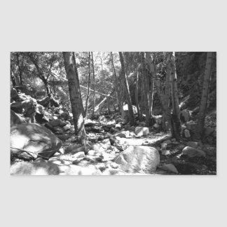 Black And White Landscape 23 Stickers