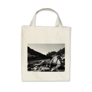 Black And White Landscape 4 Bag