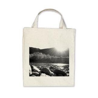 Black And White Landscape 5.png Canvas Bag