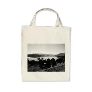 Black And White Landscape 6 Tote Bag