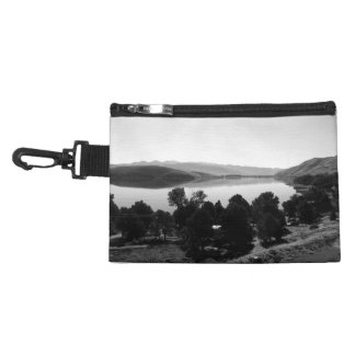 Black And White Landscape 6 Accessory Bags