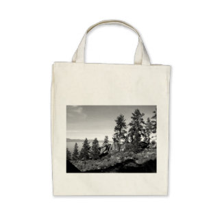 Black And White Landscape 8 Bags
