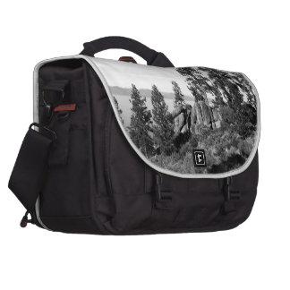Black And White Landscape 8 Bag For Laptop