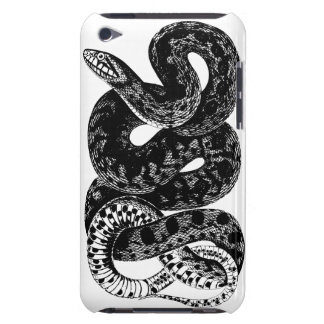 Black and White Large Snake Cell Phone Case
