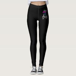 black and white legging