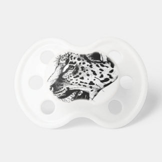 Black And White Leopard Baby Pacifiers