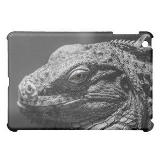 Black and White Lizard Case For The iPad Mini
