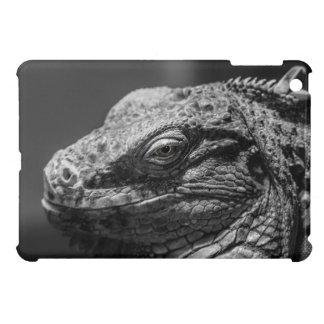 Black and White Lizard iPad Mini Case