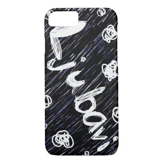 "Black and White ""Ljubavi"" (Love) Phone Case"