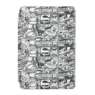 Black and White Logos iPad Mini Cover
