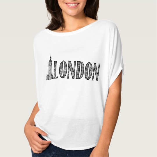 Black and White London Shirt