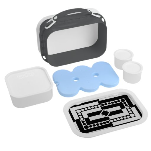 Black-and-white Lunch Box