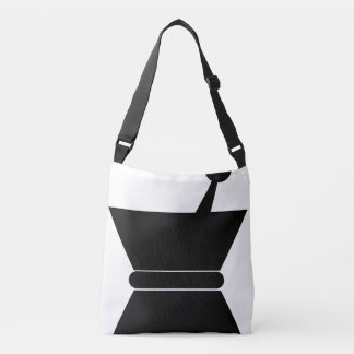 Black and White M&P Tote