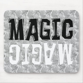 Black and White Magic Mouse Pads