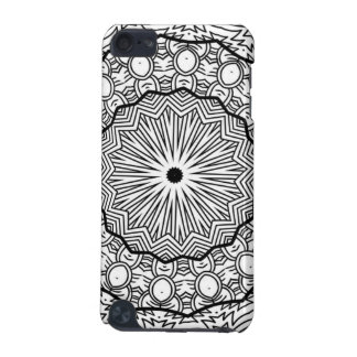 Black and White Mandala Cell Phone Case