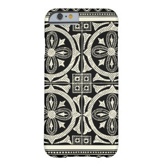 Black and White Mandala Motif by Vision Studio Barely There iPhone 6 Case