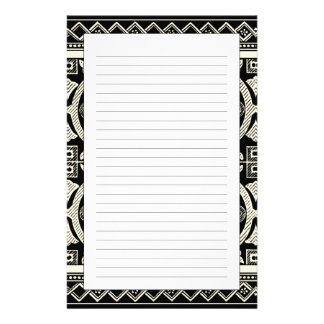 Black and White Mandala Motif by Vision Studio Stationery