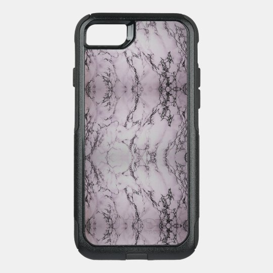 Black and white Marble 8 Plus/7Plus Otterbox Case