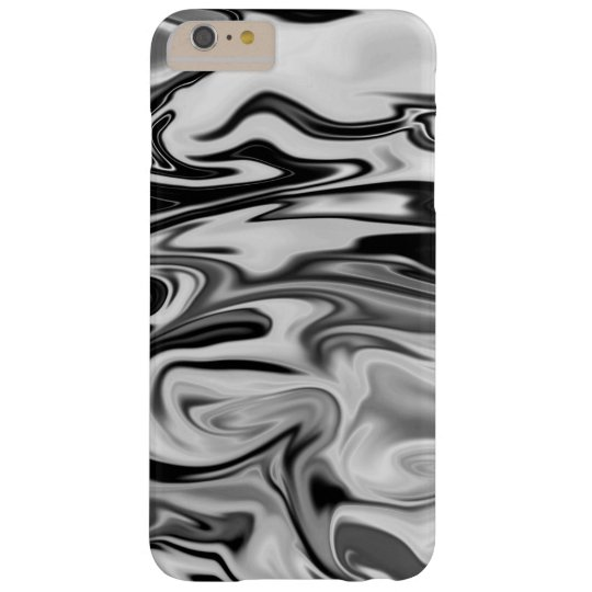 Black and White Marble iPhone Cover