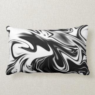 Black And White Marble, Lumbar Cushion. Lumbar Cushion