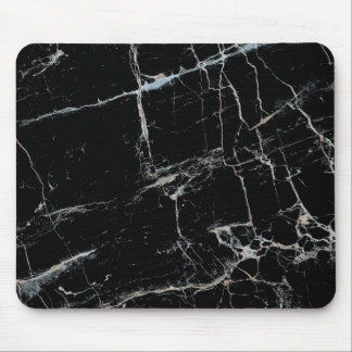 black and white marble mouse mat