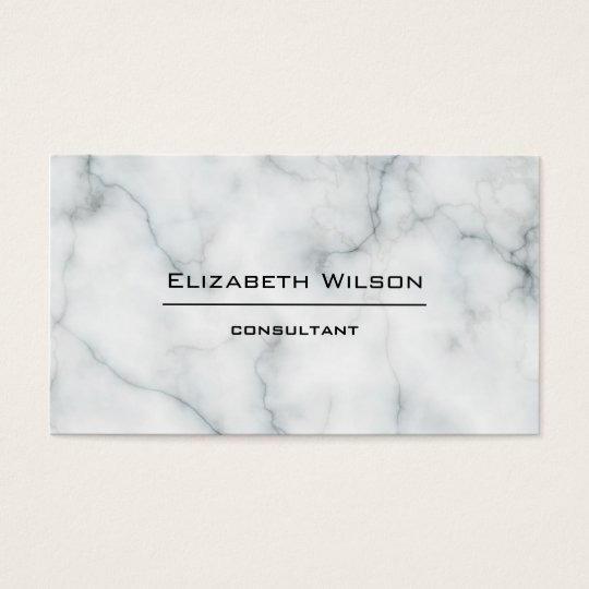 black and white marble professional elegant plain business