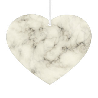 black and white marble stone finish car air freshener