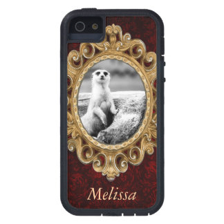 Black and White Meerkat On A Tree iPhone 5 Covers