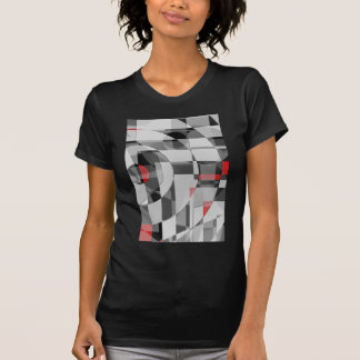 black and white meets red Version 2 T-Shirt