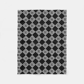 Black And White Modern Art Deco Diamonds Blanket