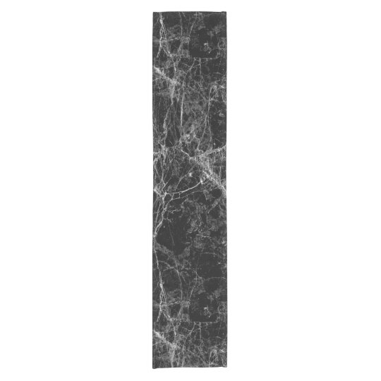 Black and White Modern Faux Marble Pattern Short