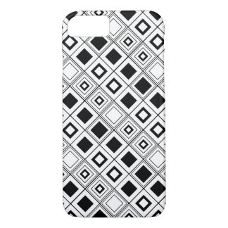 Black and White Modern Squares by Orchard Three iPhone 7 Case