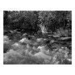 """Black and white """"Mountain River"""" posters"""