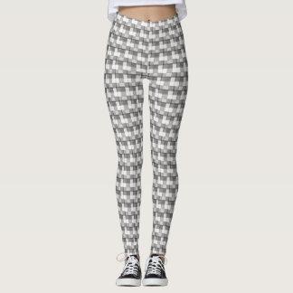 Black and White Multi-Print Leggings
