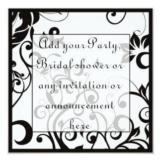 Black and White Multi purpose Invitation