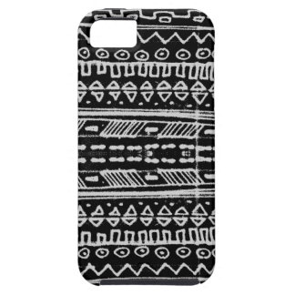 Black and White Native American - hieroglyphic iPhone 5 Cover
