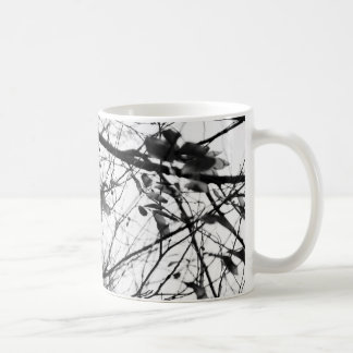 Black and White Nature Abstract Mug