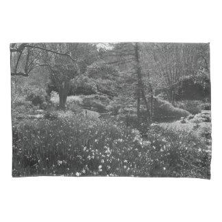 Black and White Nature Scene Pillowcase