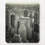 Black and White New York City Skyline