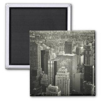 Black and White New York City Skyline Magnets