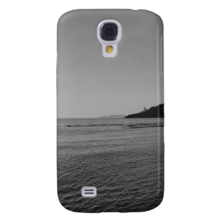 Black and White Ocean Sunset Galaxy S4 Case