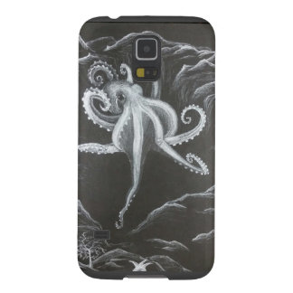 Black and White Octopus Phone Case Cases For Galaxy S5